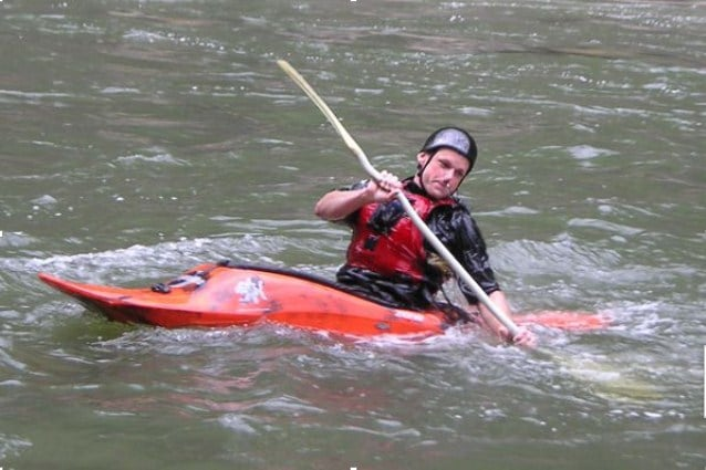 employ the hip snap technique to right your kayak fully