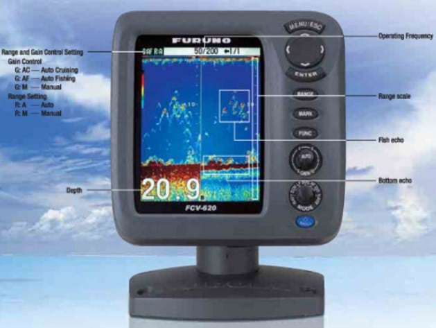 how to set up a fish finder