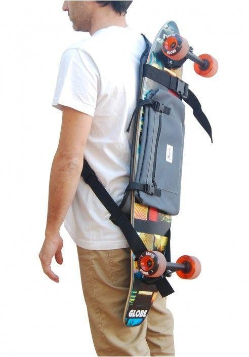 A longboard backpack is important for riders