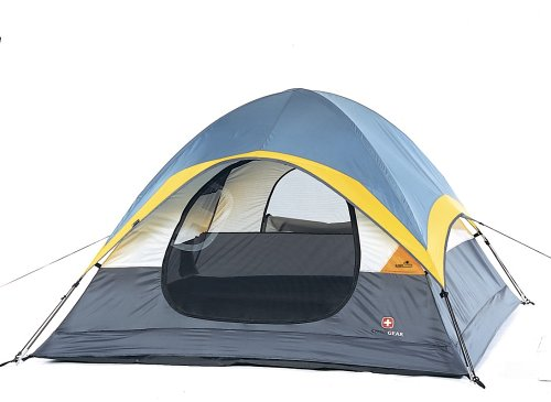 Swiss Gear 7 by 7-Foot Three-Person Sport Dome Cheval Tent