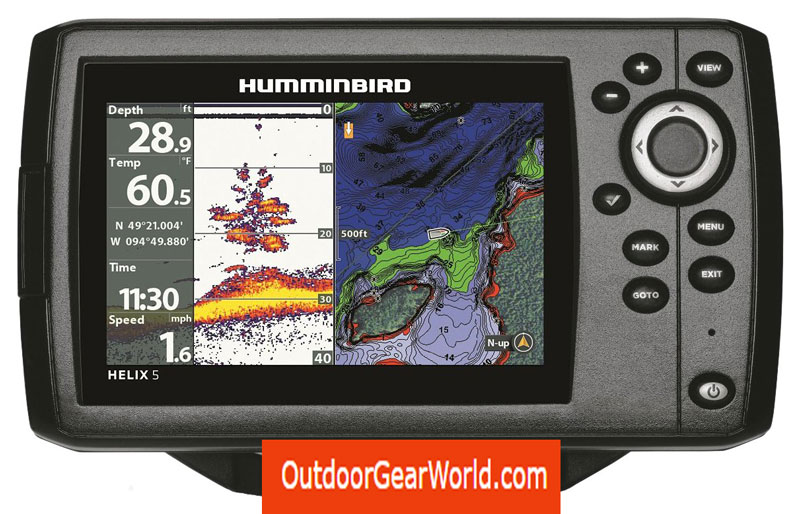 Humminbird-410210-1-Helix-5-Chirp-GPS-G2-Fish-Finder-Review