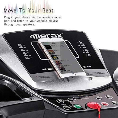 Merax Motorized Folding Treadmill