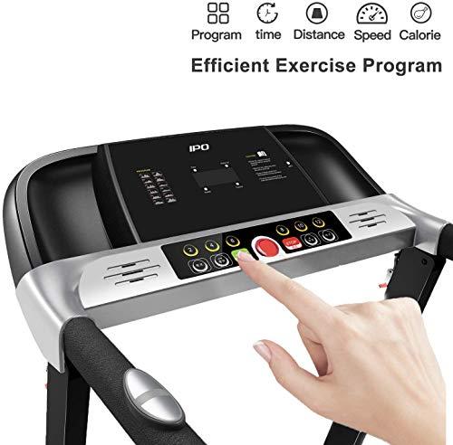 IPO Folding Electric Treadmill