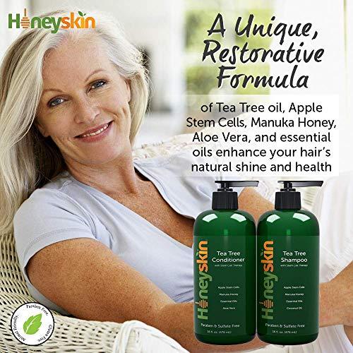 Honey skin Tea Tree Oil Shampoo & Conditioner