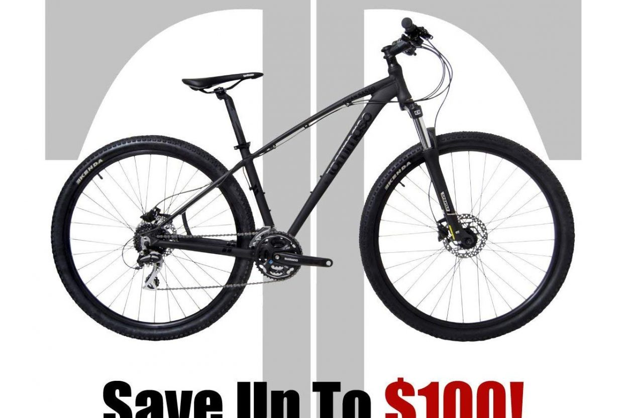 Tommaso Gran Sasso Hydraulic Disc Brake Mountain Bike