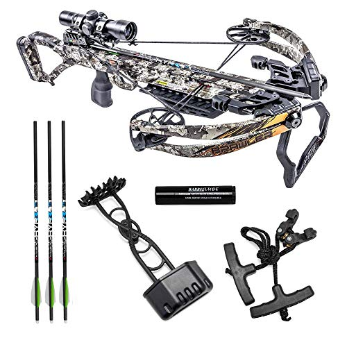 Killer Instinct Crossbows Brawler 400 FPS Crossbow Pro Package Kit