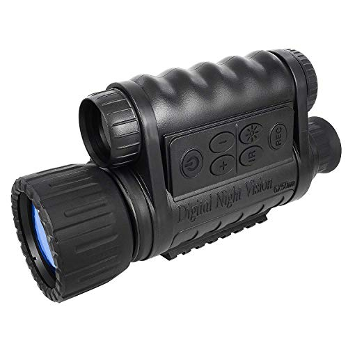 Bestguarder 6x 50mm HD Digital Night Vision Monocular with TFT LCD