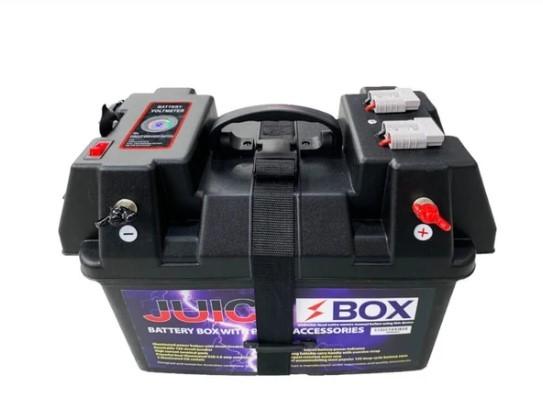 JuiceBox 12V Power Battery Box