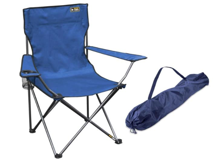 An Appropriate Camping Chair