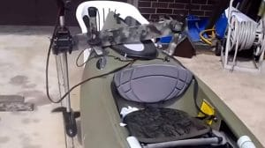 How to Put a Trolling Motor on a Kayak
