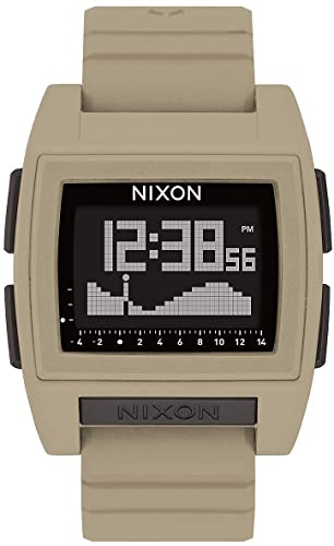 Nixon Base Pro 24mm Silicone Band Watch for Travelers