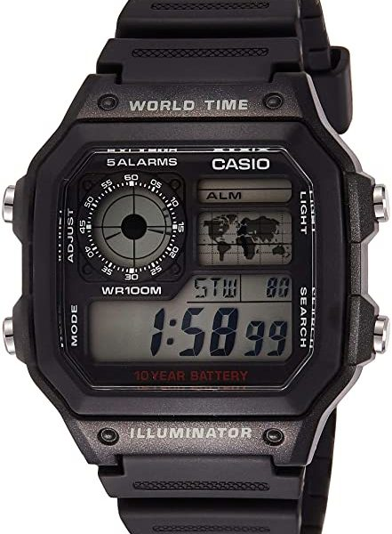 Casio Multifunctional Travel Watch