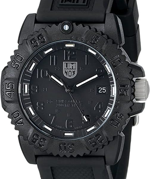 Luminox Colormark Blackout Watch for Travelers