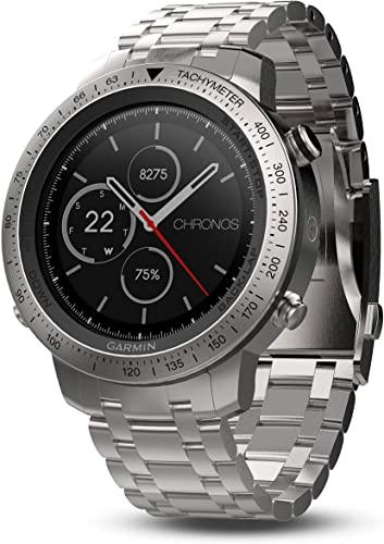 Garmin Fenix Chronos Smart Watch Band with Stainless Steel
