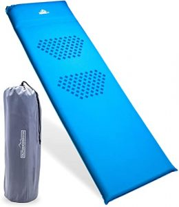 Outdoorsman Lab - Self Inflating Sleeping Pad for Camping - 3in Thickness, R Value 8