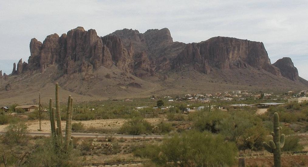 Superstition Mountains, Mesa, Arizona
