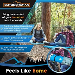 Outdoorsman Lab - Self Inflating Sleeping Pad for Camping