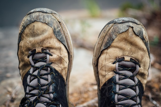 Layers of Clothing and Reliable Hiking Boots